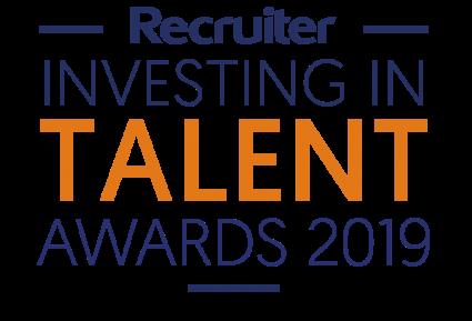 Recruiter Investing in Talent Awards 2019 Logo